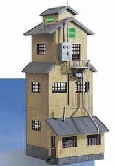 "PIKO #62035 CoOp Grain Elevator (aka ""BayWa"" Storage Tower)"