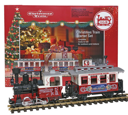 Christmas Train Set.Lgb 72304 Christmas Train Starter Set